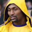 NBA Laker Ron Artest attends The Twilight Saga Eclipse Los Angeles premiere — Stock Photo
