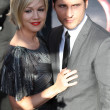 Jennie Garth and Peter Facinelli attend The Twilight Saga Eclipse Los Angeles premiere — Stock Photo