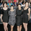 Kardashian's attend Twilight SagEclipse Los Angeles premiere — Stock Photo #14899959