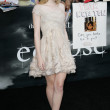 Dakota Fanning attends The Twilight Saga Eclipse Los Angeles premiere — Stock Photo