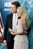 James Tupper and Anne Heche attend the film premiere — Stock Photo