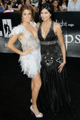 Nikki Reed and Tinsel Korey attend The Twilight Saga Eclipse Los Angeles premiere — Stock Photo