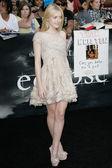 Dakota Fanning attends The Twilight Saga Eclipse Los Angeles premiere — Stock Photo