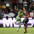 FREDY MONTERO and JONATHAN BORNSTEIN in action during the game — Stockfoto