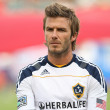 Постер, плакат: David Beckham before the game