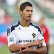 Omar Gonzalez before the start of the game — Stock Photo