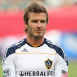 David Beckham before the game - ストック写真