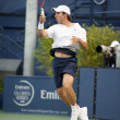Igor Sijsling returns serve during game — Stock Photo #14903059