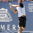 Xavier Malisse in action during the game — Stok fotoğraf