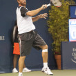 Xavier Malisse in action during the game — Stock Photo