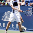 Sam Querrey in action during the game — Stockfoto