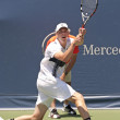 Sam Querrey in action during the game — Stock Photo