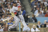 Michael Morse takes a swing during the match — Stock Photo