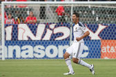 Omar Gonzalez during the game — Stock Photo