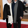 Ivan Reitman  and wife Genevieve Robert arrive at the Paramount Pictures premiere - Foto de Stock  