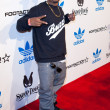 "Rapper ""Mann"" arrives at the NBA All-Star Weekend VIP party co-hosted by Adidas and Snoop Dogg — Stock Photo"