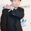 Постер, плакат: Ken Jeong arrives at the NBA All Star Weekend VIP party co hosted by Adidas and Snoop Dogg