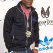 Постер, плакат: Keidran Jones arrives at the NBA All Star Weekend VIP party co hosted by Adidas and Snoop Dog