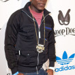 Keidran Jones arrives at the NBA All-Star Weekend VIP party co-hosted by Adidas and Snoop Dog - Stock Photo