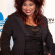 Постер, плакат: Chaka Khan arrives at the NBA All Star Weekend VIP party co hosted by Adidas and Snoop Dogg