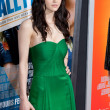Alexandra Daddario arrives at the world premiere — Stock Photo