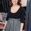 Alyssa Milano arrives at the world premiere of Hall Pass — Stock Photo