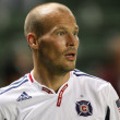Freddie Ljungberg during the game — Stock Photo