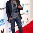 Постер, плакат: Kevin K Mac McCall arrives at the NBA All Star Weekend VIP party co hosted by Adidas and Snoop Dogg