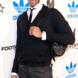 Постер, плакат: Wes Johnson arrives at the NBA All Star Weekend VIP party co hosted by Adidas and Snoop Dogg