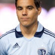 Omar Bravo before the game - Stock Photo