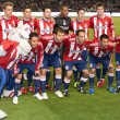 Stock Photo: Chivas USstarting eleven before start of game