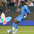 Donovan Ricketts controls the ball during the game - Stock Photo