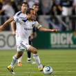 Landon Donovan  in action during the game — Stock fotografie