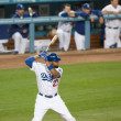 Matt Kemp in action during the game - Stock Photo