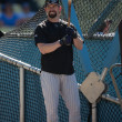 Stock Photo: Todd Helton during batting practice before the game