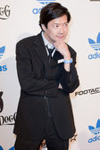 Actor Ken Jeong arrives at the NBA All-Star Weekend VIP party co-hosted by Adidas and Snoop Dogg — Foto de Stock