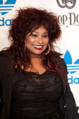 Chaka Khan arrives at the NBA All-Star Weekend VIP party co-hosted by Adidas and Snoop Dogg — Stock Photo