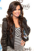 Raquel Roxanne Diaz also known as Rocsi arrives at the NBA All-Star Weekend VIP party co-hosted by Adidas and Snoop Dogg — Stock Photo
