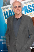 Larry David arrives at the world premiere of Hall Pass — Zdjęcie stockowe
