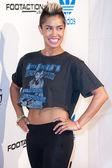 Sibley arrives at the NBA All-Star Weekend VIP party co-hosted by Adidas and Snoop Dogg — Stock Photo