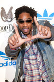 Hollywood arrives at the NBA All-Star Weekend VIP party co-hosted by Adidas and Snoop Dogg — Stock Photo
