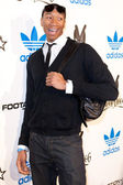 Wes Johnson arrives at the NBA All-Star Weekend VIP party co-hosted by Adidas and Snoop Dogg — Foto de Stock
