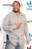 Carey Davis arrives at the NBA All-Star Weekend VIP party co-hosted by Adidas and Snoop Dogg — Stock Photo