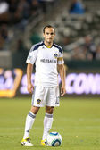 Landon donovan under spelet — Stockfoto