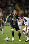 Sebastien Le Toux in action during the game — Stock Photo