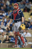 Brian McCann during the game — Stock Photo