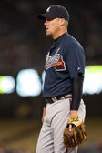 Chipper Jones during the game — Stock Photo