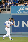 Matt Kemp in action during the game — Stock Photo