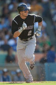 Troy Tulowitzki in action during the game — Stock Photo