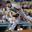 Mat Latos during the game — Stock Photo